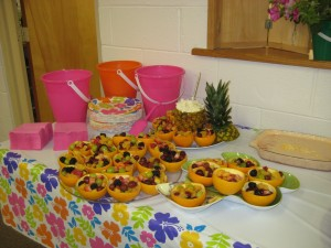 Fruit salads and Fruit Dip