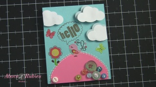 hello card unity stamps tt