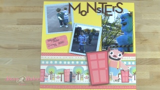 Monster Scrapbook