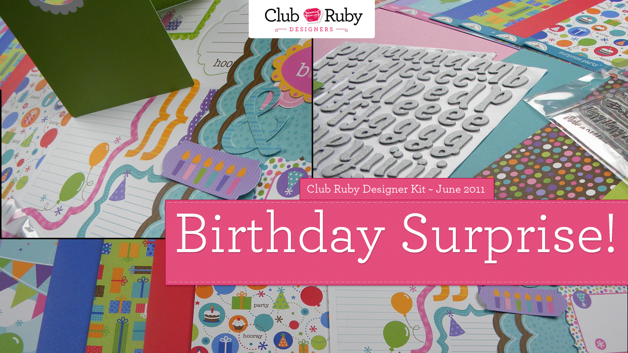 Birthday Surprise! A New Kit is available…