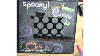 Spooks Scrapbook Layout