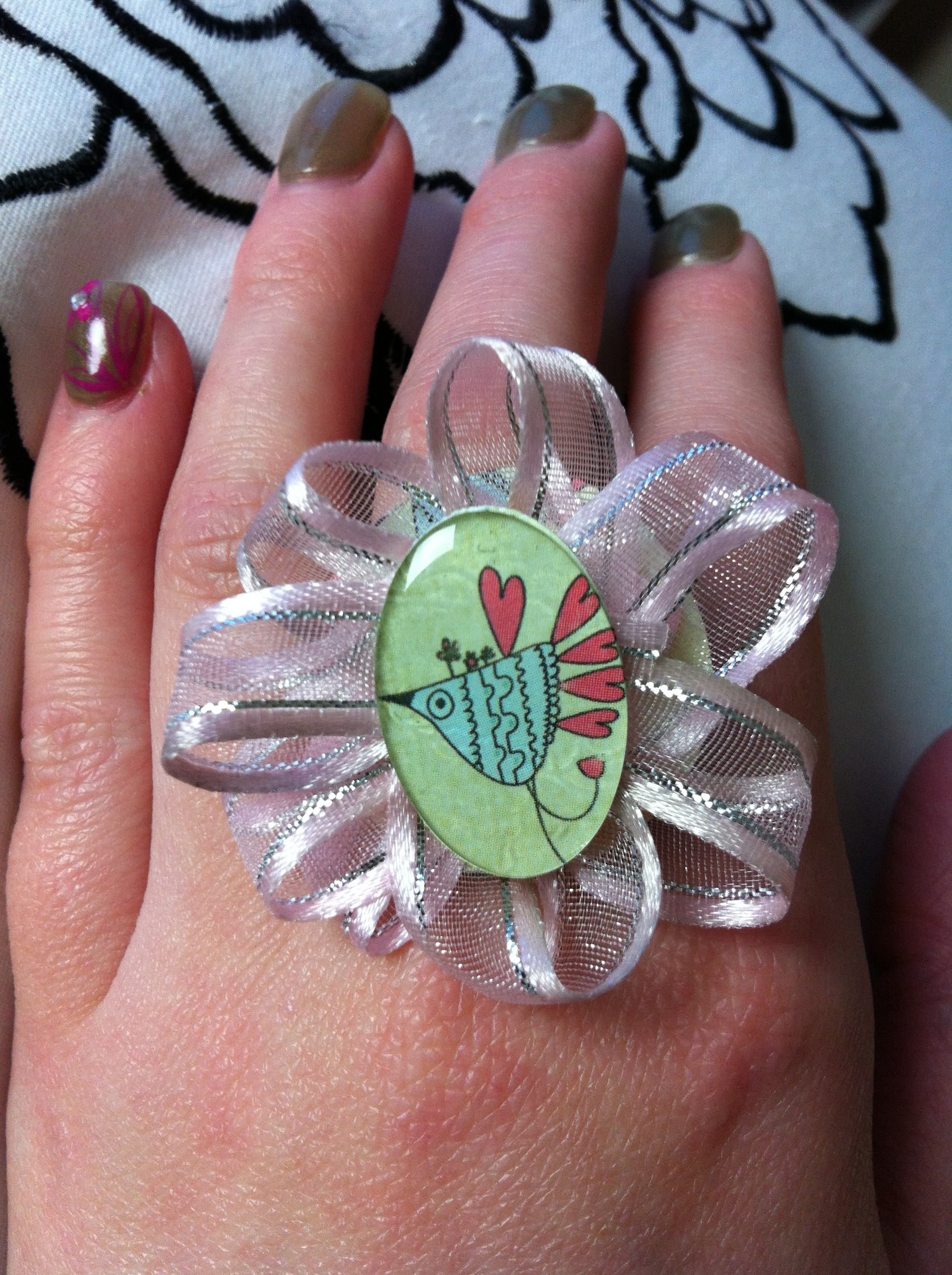 Epiphany Crafts Punches, Epoxy and Hand Made Rings
