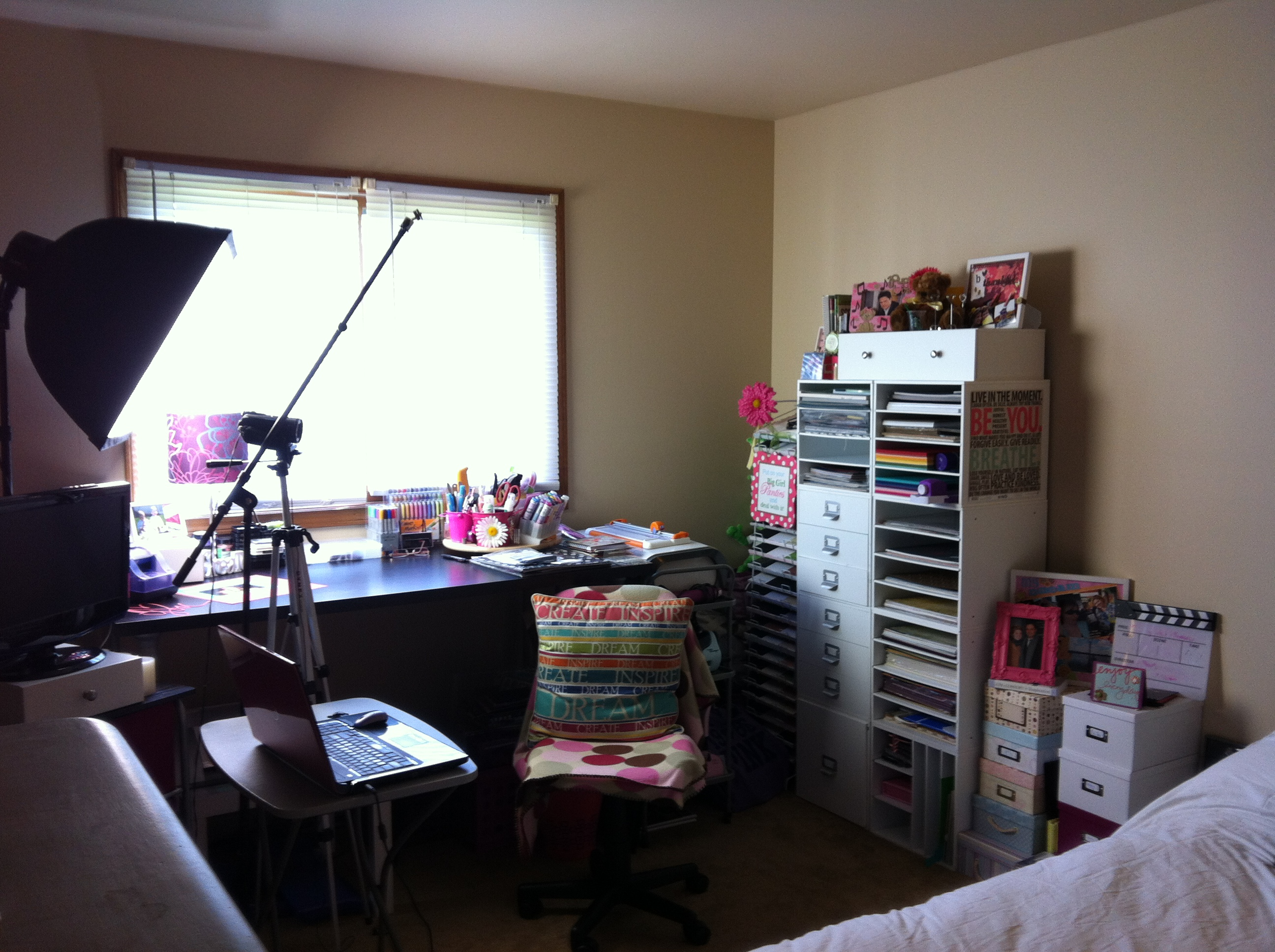 My Scrapbook Room, Crafting Haul Goodies and Make Someones Day!
