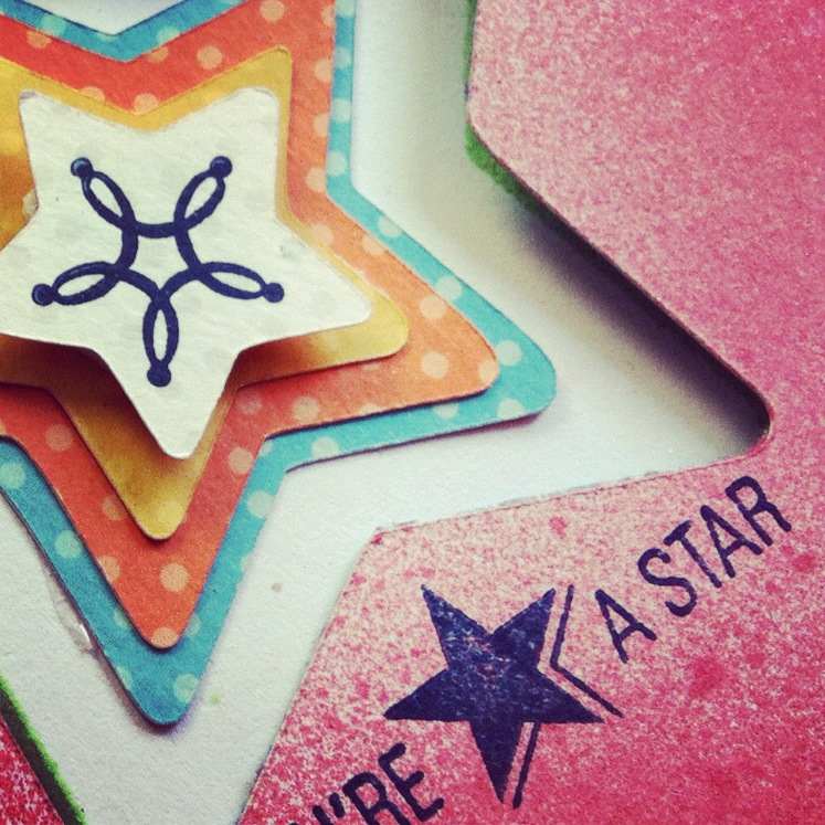 You're a Star Cricut Card