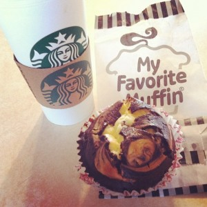 Starbucks and Favorite Snack