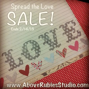 Spread the Love AboveRubiesStudio