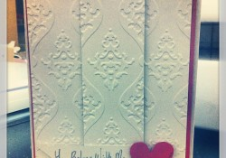 Handmade Valentine's Card Easy and Quick for Everyone