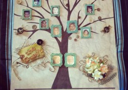 DIY Personal Family Tree Wall Art