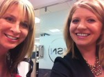 Britten and I in an HSN Conference Room