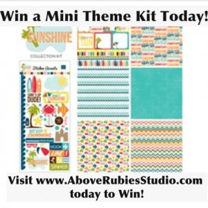Scrapbooking Mini Kit Free Giveaway