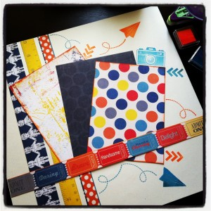 Big Boy Scrapbooking
