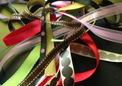 Ribbon Scrapbook Challenge