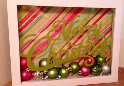 Day 2 2013 12 Days Extravaganza – DIY Shadow Box Gifts and Holiday Decor