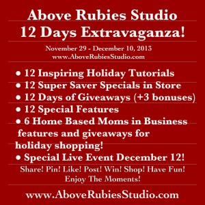 Prizes, Free, Sales, Holidays, AboveRubiesStudio