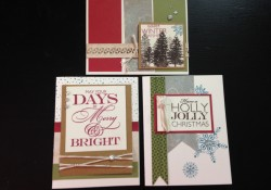 Create Easy Stamped Bulk Christmas Cards