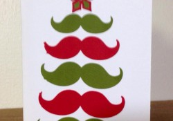 Fan-Stachtic Christmas Tree Card with Cricut Artiste Cartridge