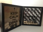 Wine Cork Shadow Boxes - Two At A Time Design