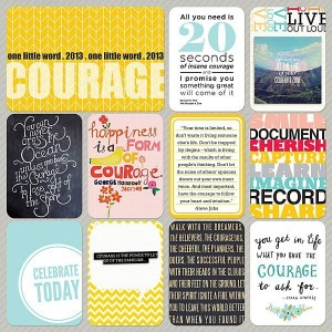 2014 One Little Word Scrapbooking 2