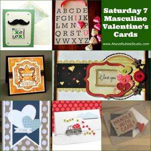 DIY Masculine Valentine's Cards