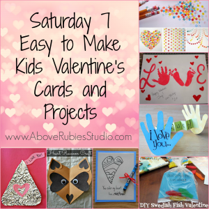 Easy To Make Kids Valentines Cards