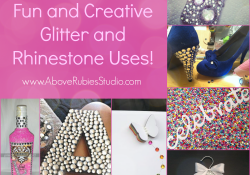 Creative Rhinestone Uses