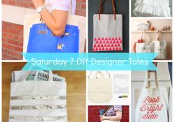DIY Designer Tote Bags