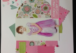 Lollydoodle CTMH Workshop on the Go Scrapbook Layout
