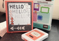 Tues Tut: Howto Do Generational Stamping Effects & Proportionate Cricut Card Frame