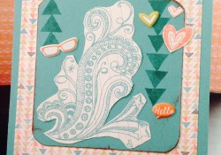 Hello Card -Chalk It Up – New Close To My Heart 2014 Idea Book