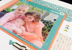 Close To My Heart Chalk It Up Scrapbook Layout Howto
