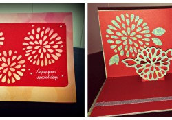 How to Make Pop Up Cards and Measure for Artfully Sent Cricut Cartridge
