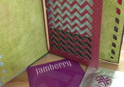 Jamberry and Unique DIY Gift Wrap Card Day 9