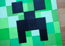 Minecraft Theme Giftcard Holder Card