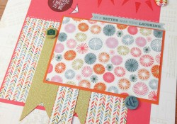 Hopscotch Scrapbook 12x12 LayoutsEasy