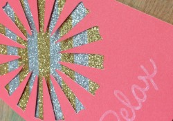 Easy and Fun Glitter and Sequin Backgrounds & Embellishments