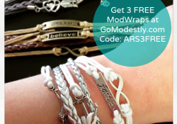 GoModestly SPECIAL Announcement FREE Mod Bracelets!